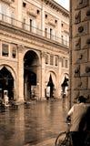 romantyczne miasto Zdjęcia Royalty Free