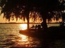 romantyczne słońca Zdjęcie Royalty Free
