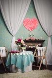 romantyczne, wnętrze Obraz Royalty Free