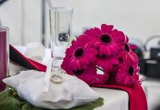 Romantycznej małżeństwo pary symboli/lów ślubna miłość 28 Obraz Royalty Free