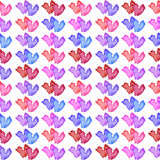 Romantyczni bezszwowi wzory Tileable tło Obraz Stock