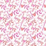 Romantyczni bezszwowi wzory Tileable tło Fotografia Stock