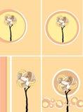 romantyczni drzewa Zdjęcia Stock