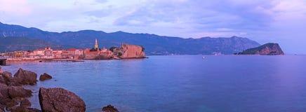 Romantyczni miejsca Montenegro Obraz Royalty Free