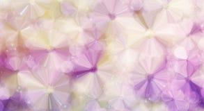 Romantyczny abstrakcjonistyczny kwiat w fiołkowym purpurowym colour dla marzycielskiego plecy Zdjęcie Stock