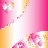 romantyczny abstrakcjonistyczny tło Obraz Stock