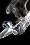 Romantyczny dym Zdjęcie Royalty Free