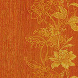Romantyczny elegancja kwiatu papier ilustracji