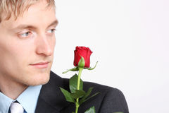 Romantyczny kochanek fotografia stock