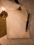 Romantyczny list Zdjęcie Stock