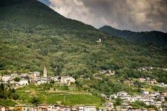 Romantyczny Lombardy krajobraz Obraz Stock