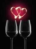 romantyczny miłość symbol Obrazy Stock