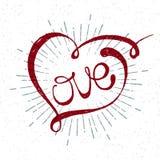 Romantyczny miłości pisać list Zdjęcie Royalty Free