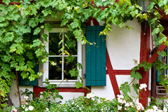 Romantyczny okno Fotografia Royalty Free
