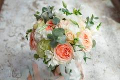 Romantyczny przygotowania lato kwiaty zdjęcie stock