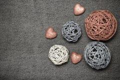 Romantyczny skład i przestrzeń dla teksta Romantyczny miłość temat dalej Fotografia Royalty Free