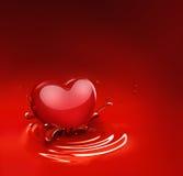 romantyczny tło Fotografia Stock