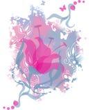 romantyczny tło kwiat Obraz Stock