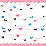 romantyczny tła serce Ilustracja Wektor