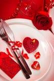Romantyczny tableware Obraz Royalty Free