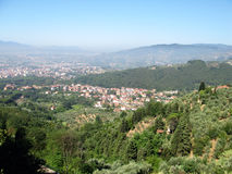 Romantyczny Tuscany krajobraz fotografia stock