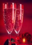 Romantyczny walentynki gość restauracji fotografia royalty free