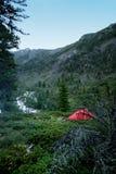 Romantyczny widok górski Zdjęcia Royalty Free