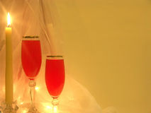 romantyczny wieczór Obraz Royalty Free