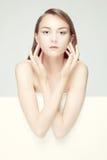 Romantyczny wizerunek kobieta Zdjęcia Royalty Free
