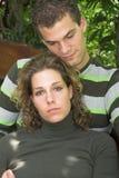 romantycznych młodych par Zdjęcia Royalty Free