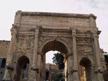 romanum της Ρώμης φόρουμ Στοκ εικόνες με δικαίωμα ελεύθερης χρήσης
