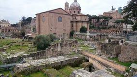 Romanum de forum à Rome, Italie photographie stock