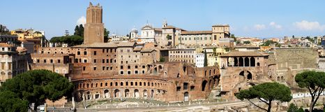 Romanum del foro Imagen de archivo