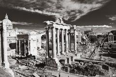 Romanum del foro fotografía de archivo