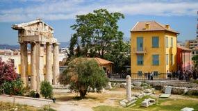 Romanum del foro de Grecia Imagen de archivo libre de regalías