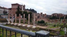 Romanum della tribuna a Roma, Italia Fotografia Stock