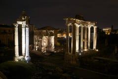 Romanum della tribuna a Roma, Italia Fotografie Stock