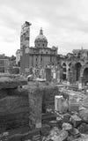 Romanum Forum Stock Photo