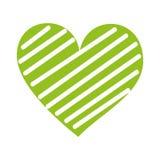 Romanze Leidenschaft der Herzliebe verzieren Streifen lizenzfreie abbildung