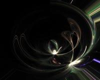 Romanzo astratto di caos di frattale di Digital che dynamicemanating dinamica di sogno della sovrapposizione di progettazione gra illustrazione di stock