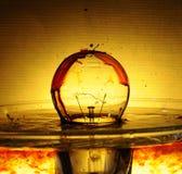 Romanzo della lampadina Fotografia Stock