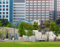 Romare Bearden Park in Charlotte NC Stock Photos
