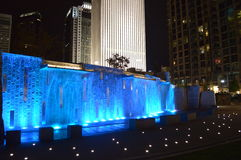 Romare Bearden Park in Charlotte Royalty Free Stock Photography