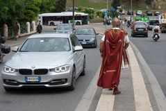 Romare i Rome Arkivfoton