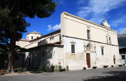 Romare - katolsk domkyrka, Sulmona, Italien Royaltyfria Bilder