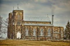 Romare - katolsk kyrka Arkivfoto