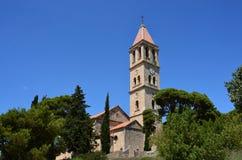 Romare - katolsk kyrka Arkivfoton
