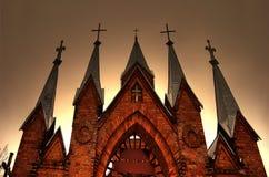 Romare - katolsk kyrka Royaltyfria Foton
