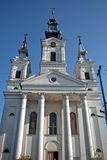 Romare - katolsk kyrka, Sivac, Serbien Arkivfoton