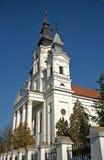 Romare - katolsk kyrka, Sivac, Serbien Arkivbild